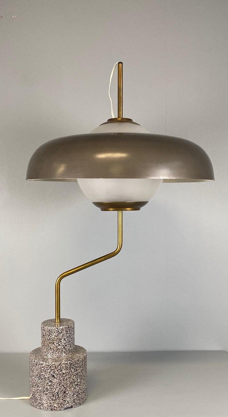 """Rare """"Mikado"""" Table Lamp by Luigi Caccia Dominioni Azucena In Excellent Condition For Sale In Rovereta, SM"""