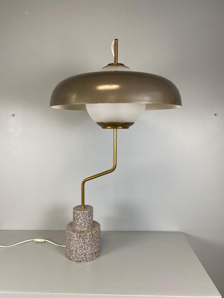 """Rare """"Mikado"""" Table Lamp by Luigi Caccia Dominioni Azucena For Sale 2"""
