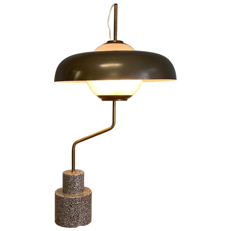 """Rare """"Mikado"""" Table Lamp by Luigi Caccia Dominioni Azucena For Sale"""