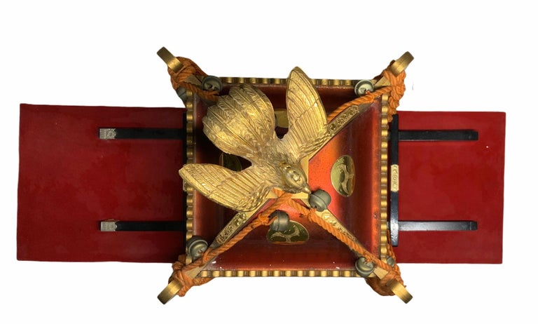 Hand-Crafted Rare Mikoshi Palanquin Citizen Clock For Sale
