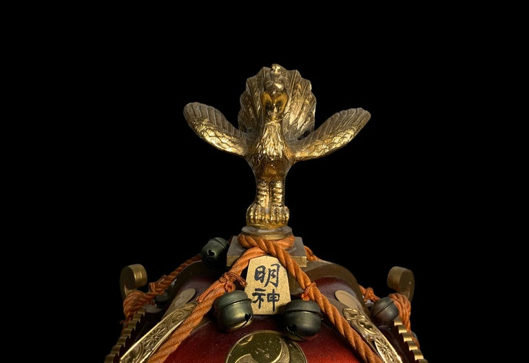 Rare Mikoshi Palanquin Citizen Clock For Sale 1