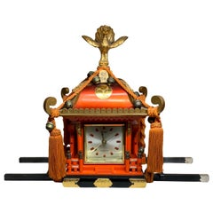 Rare Mikoshi Palanquin Citizen Clock