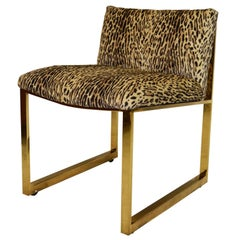 Rare Milo Baughman Slipper Chair