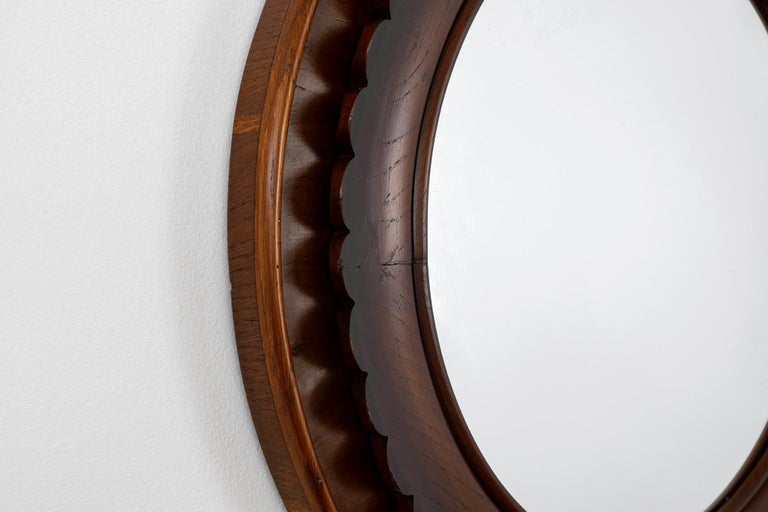 Mid-20th Century Rare Mirror by Fratelli Marelli