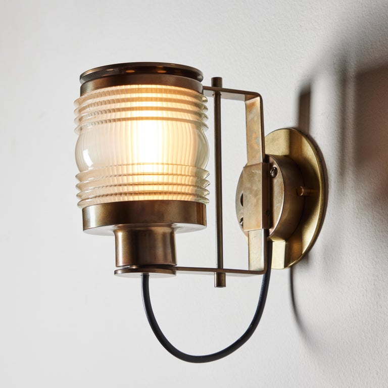 Mid-20th Century Rare Model 1138 Sconce by Joe Colombo for Oluce  For Sale