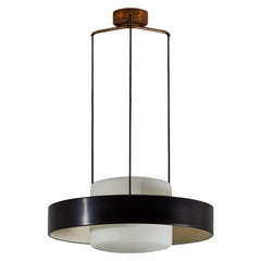 Rare Model 1158 Suspension Light by Bruno Gatta for Stilnovo