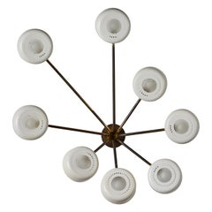 Rare Model 178 A Wall or Ceiling Light by Gino Sarfatti for Arteluce
