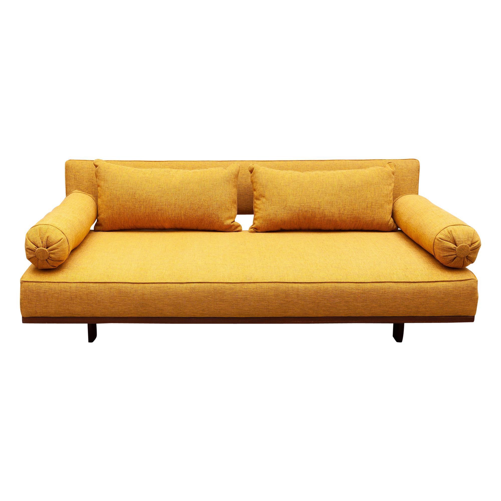 Rare Modern Daybed, Sofa by Karl-Erik Ekselius, Sweden, 1960s