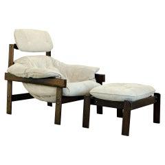 "Rare ""MP-41"" Armchair, Percival Lafer, Brazilian Mid-Century Modern"