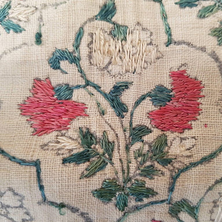 Agra Rare Mughal Dynasty Summer Carpet For Sale