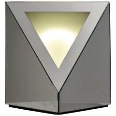 Rare Nanda Vigo Light Sculpture 'Trigger of Space'