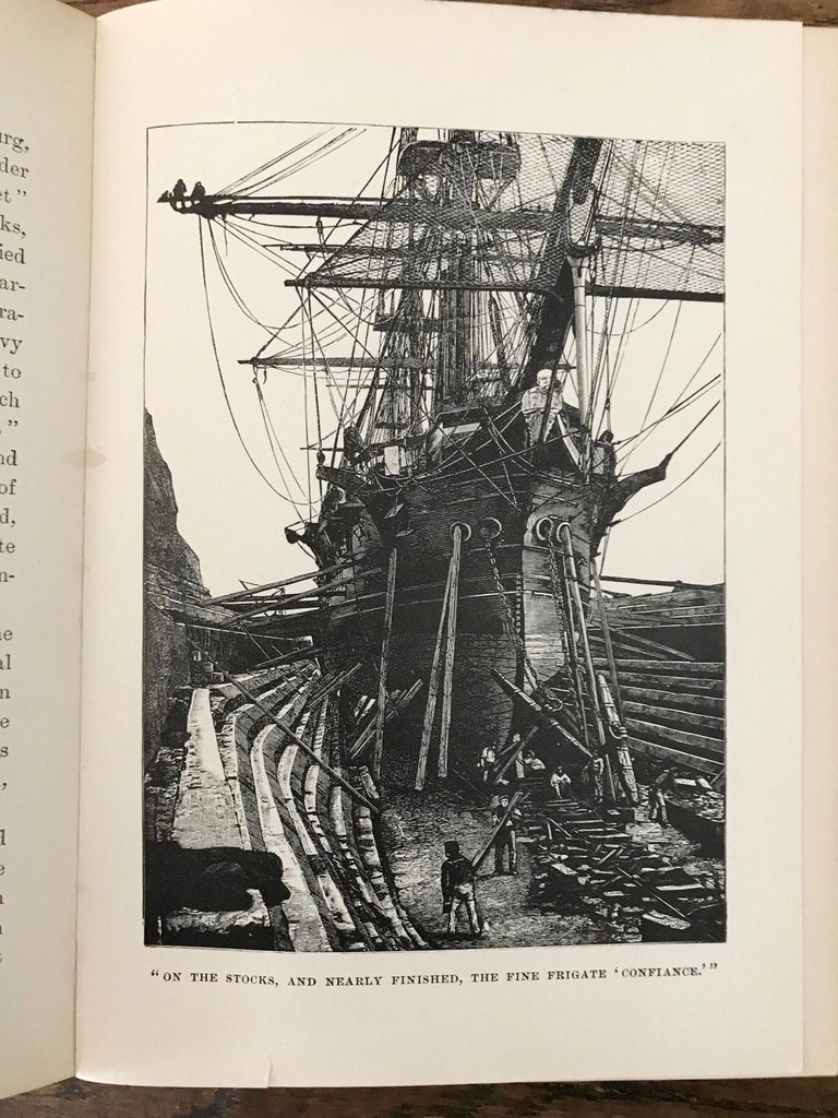 Rare Navel Book, The Boys of 1812 by James Russell Soley, Copyright 1888 For Sale 5