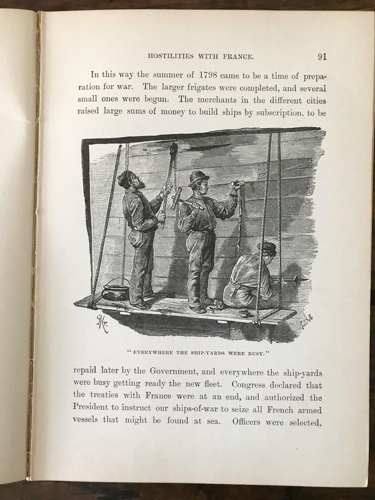 Rare Navel Book, The Boys of 1812 by James Russell Soley, Copyright 1888 For Sale 1