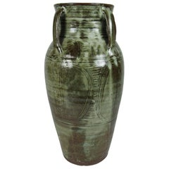 Rare Nigerian 20th Century Bawa Ushafa Abuja Pottery Vase