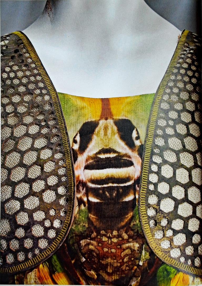Rare! NWT Alexander McQueen 'Moth' dress, Plato's Atlantis 2010 In New Condition For Sale In Los Angeles, CA