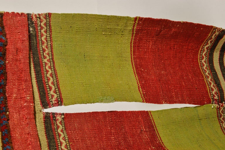 Rare Old Shahsavan Saddle Bag For Sale 1
