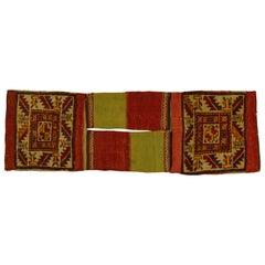 Rare Old Shahsavan Saddle Bag