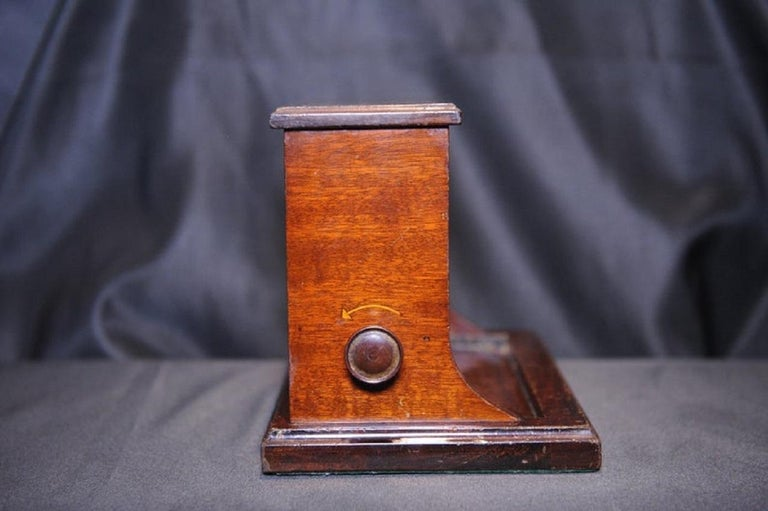 Rare Original Alfred Dunhill Inlaid Art Deco Cigarette Dispenser from 1920s In Good Condition For Sale In High Wycombe, Buckinghamshire