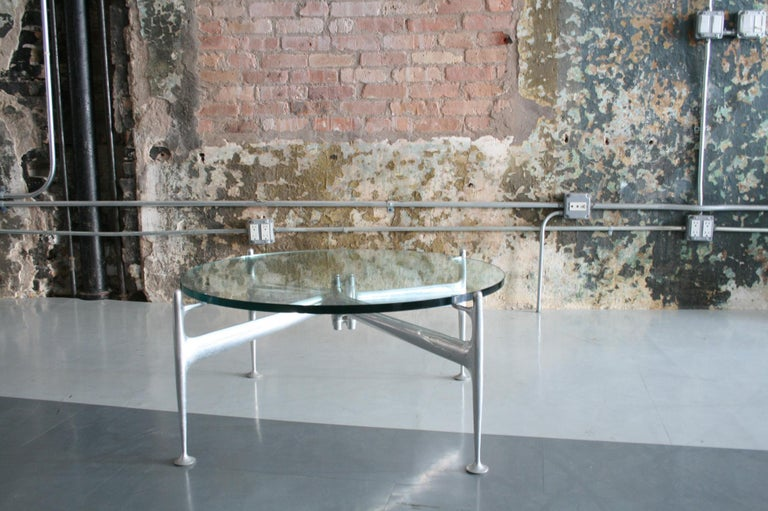 Aluminum Rare Original Design Coffee Table by Alexander Girard for Herman Miller For Sale