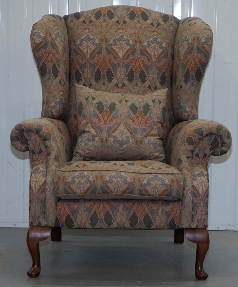 Rare Original Vintage Liberty London Ianthe Upholstered ...
