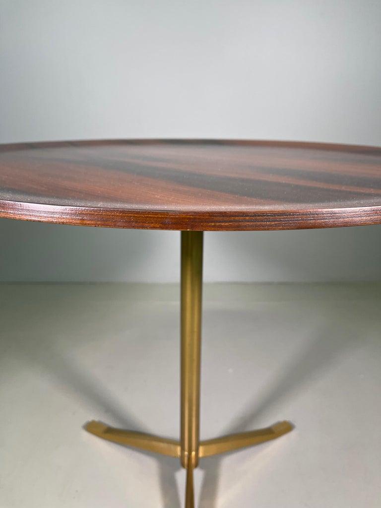 Rare Osvaldo Borsani Coffee Side Table Atelier Borsani Varedo Production For Sale 4