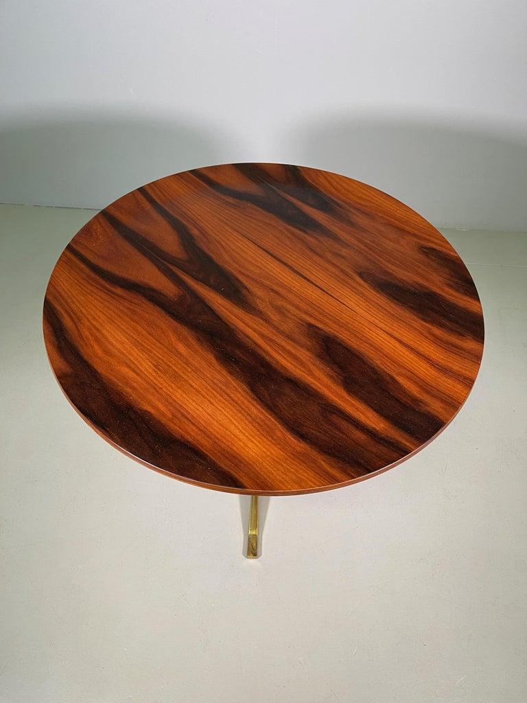 Rare Osvaldo Borsani Coffee Side Table Atelier Borsani Varedo Production For Sale 5