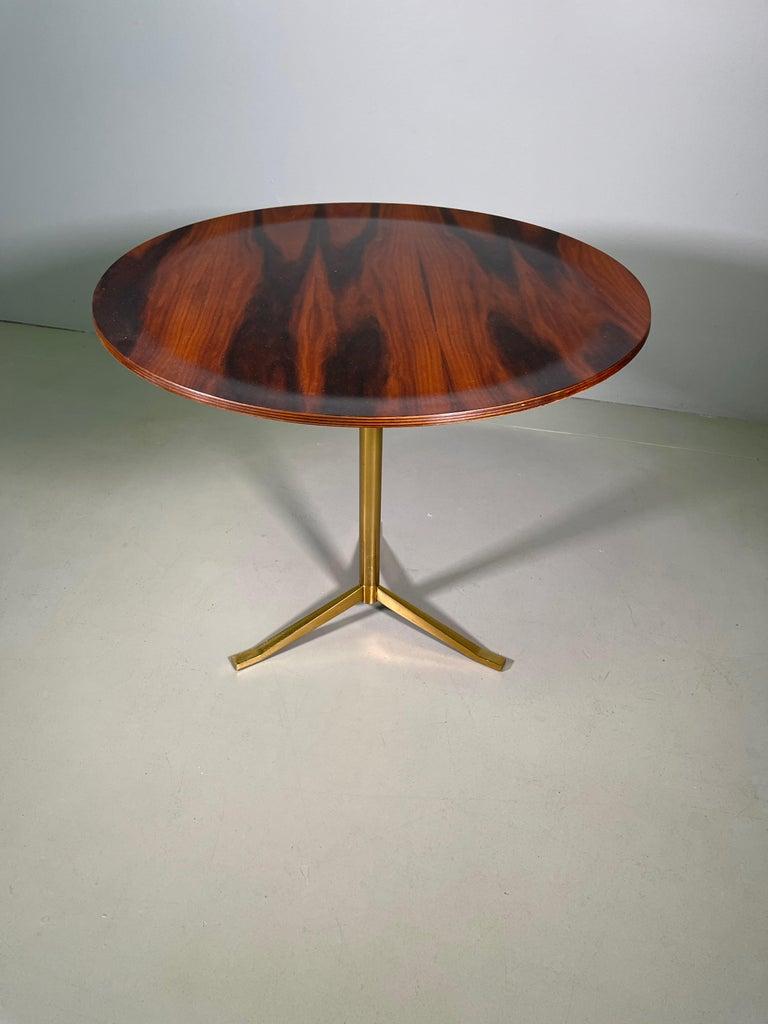 Rare Osvaldo Borsani Coffee Side Table Atelier Borsani Varedo Production For Sale 10