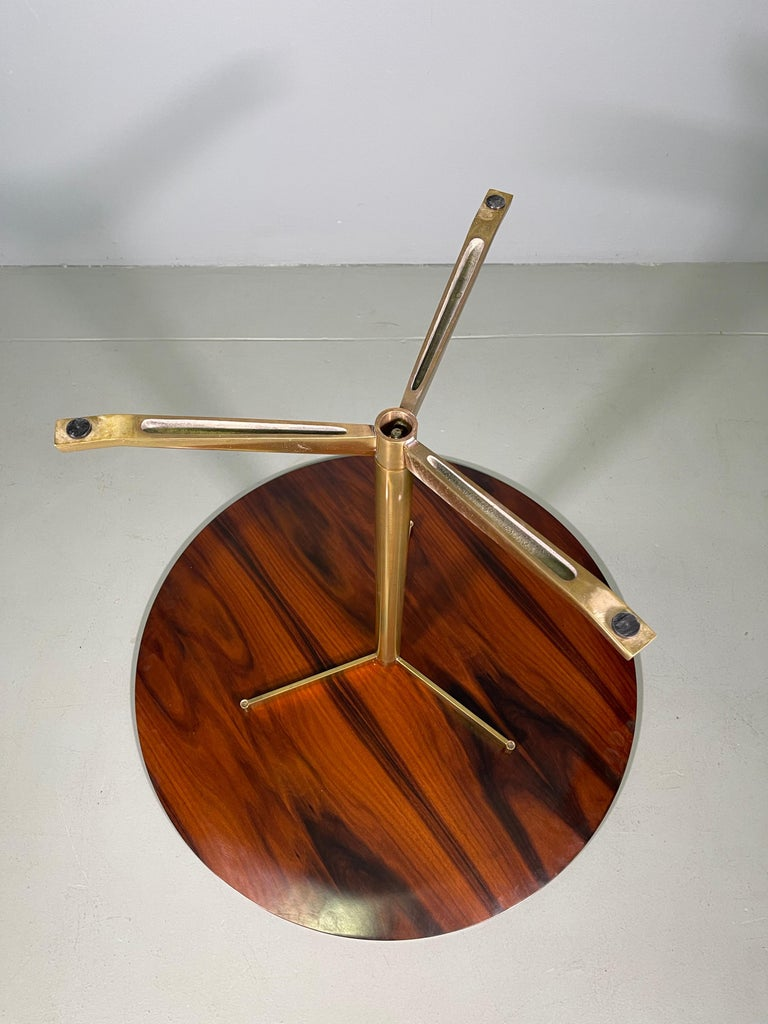 Rare Osvaldo Borsani Coffee Side Table Atelier Borsani Varedo Production For Sale 12