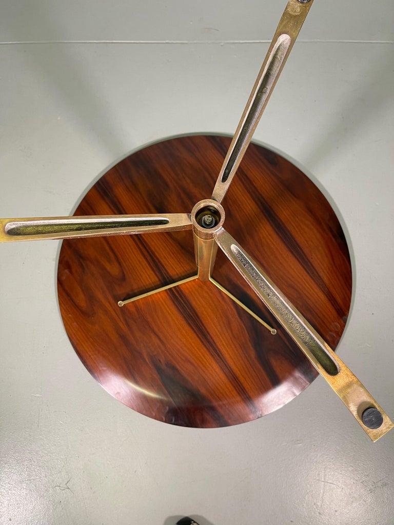 Rare Osvaldo Borsani Coffee Side Table Atelier Borsani Varedo Production For Sale 13