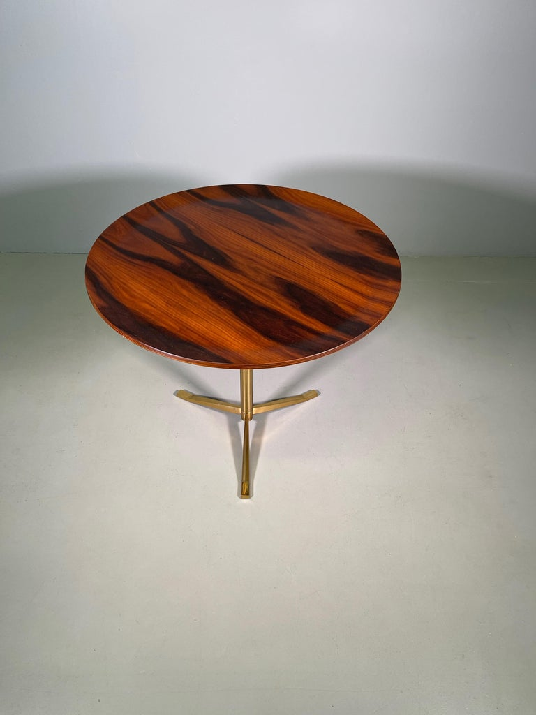 Mid-Century Modern Rare Osvaldo Borsani Coffee Side Table Atelier Borsani Varedo Production For Sale
