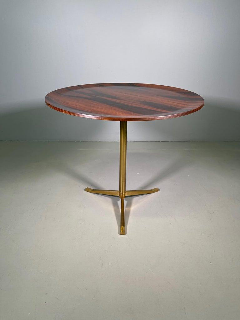 Italian Rare Osvaldo Borsani Coffee Side Table Atelier Borsani Varedo Production For Sale