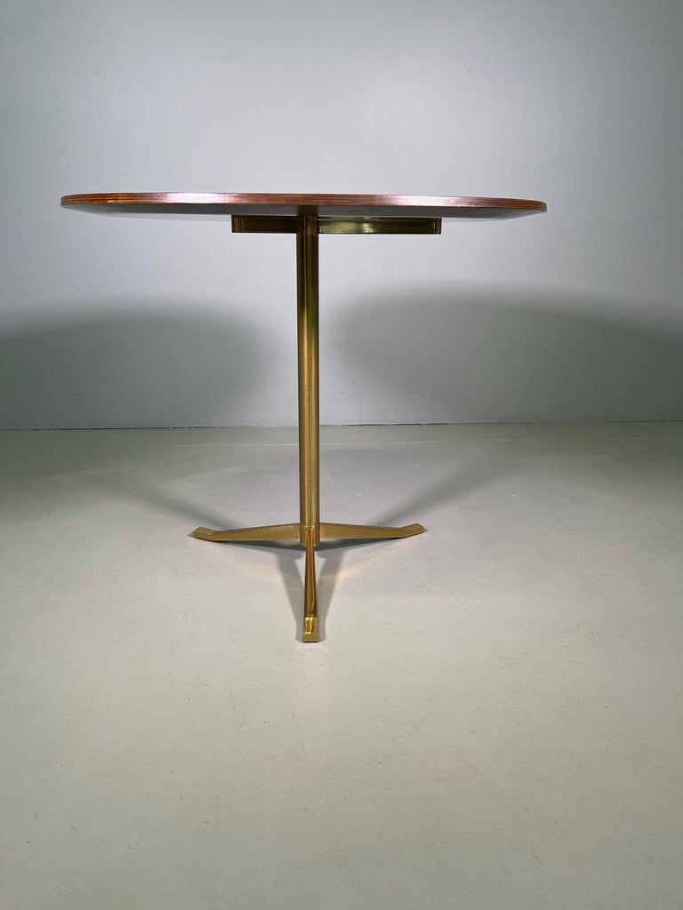 20th Century Rare Osvaldo Borsani Coffee Side Table Atelier Borsani Varedo Production For Sale