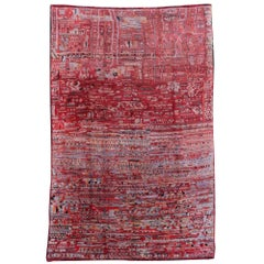 Rare Oversized Vintage North African Moroccan Berber Rug