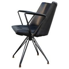 Rare P99 Tecno Chair Osvaldo Borsani Italian Design Minimalist Razionalist, 1957
