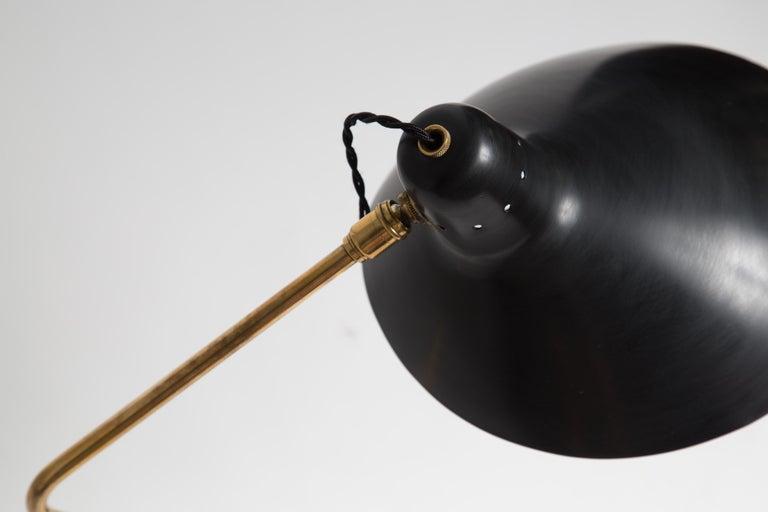 Rare Pair of 1950s Jean Boris Lacroix Table Lamps For Sale 7