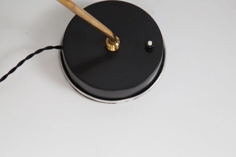 Rare Pair of 1950s Jean Boris Lacroix Table Lamps For Sale 9