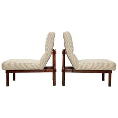 Rare Pair of 869 Lounge Chairs by Ico & Luisa Parisi