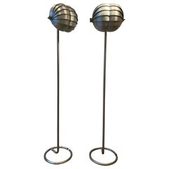Rare Pair of Bottega Gadda Floor Lamp, circa 2000