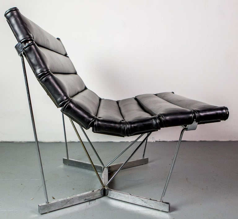 Mid-Century Modern Rare Pair of Catenary Chairs by George Nelson for Herman Miller For Sale