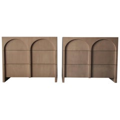 Rare Pair of Colosseum Cabinets by Widdicomb