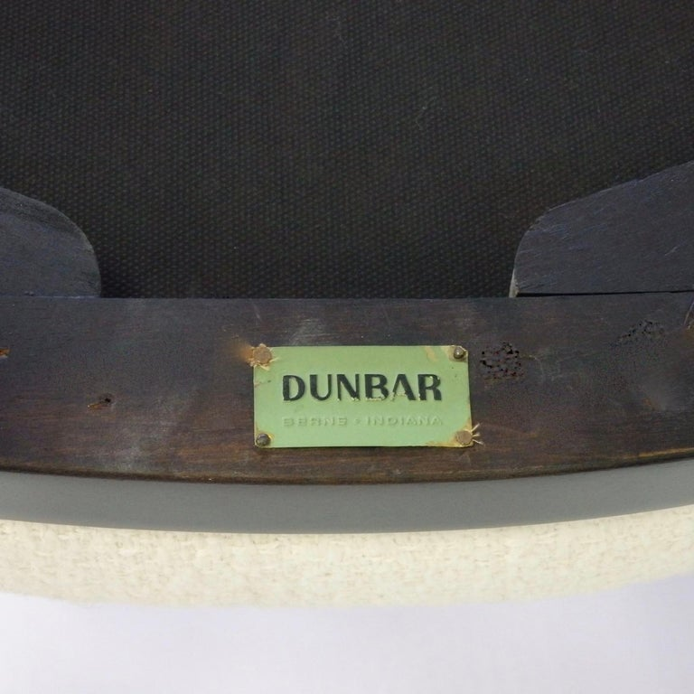 Rare Pair of Edward Wormley for Dunbar Side Chairs In Excellent Condition For Sale In Ferndale, MI