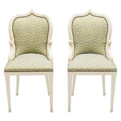 Rare Pair of Garouste & Bonetti 'Palace' Dining Chairs, 1980