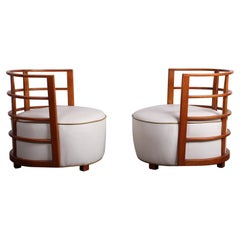 Rare Pair of Gilbert Rohde Chairs for Herman Miller, 1934