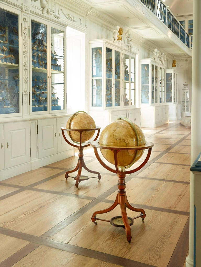 Rare Pair of Globes, London 1816/1828, John and William Cary In Good Condition For Sale In Bamberg, DE