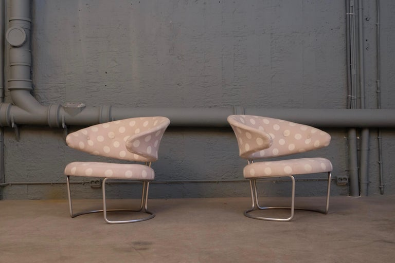 Danish Rare Pair of Grete Jalk Easy Chairs, 1960s For Sale