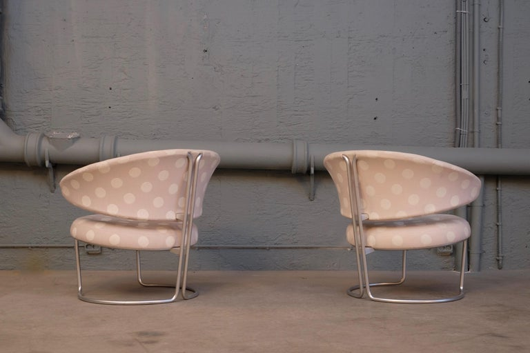 Rare Pair of Grete Jalk Easy Chairs, 1960s For Sale 2