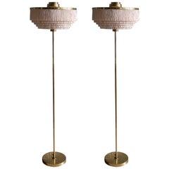 Rare Pair of Hans-Agne Jakobsson Floor Lamp Model G-110, 1960s