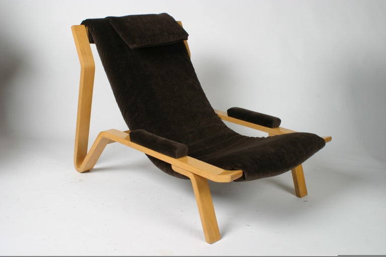 Rare Pair of Harvey Probber Sling Chair, circa 1948 In Good Condition For Sale In St. Louis, MO