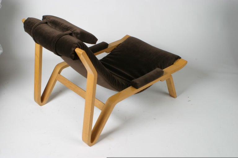 Mid-20th Century Rare Pair of Harvey Probber Sling Chair, circa 1948 For Sale