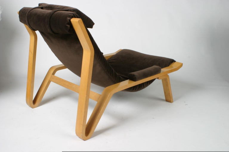 Upholstery Rare Pair of Harvey Probber Sling Chair, circa 1948 For Sale
